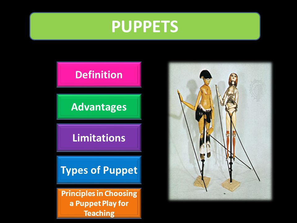 Principles in Choosing a Puppet Play for Teaching