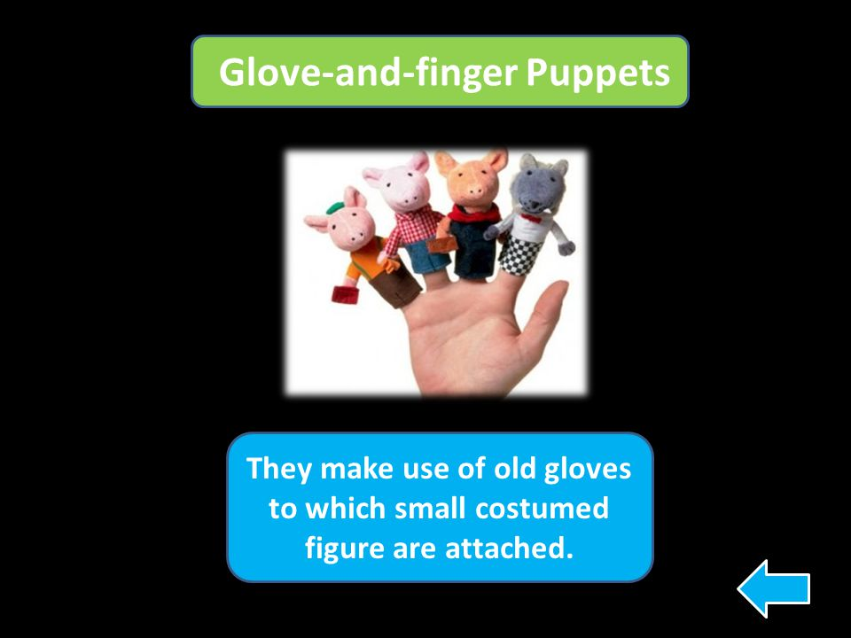 Glove-and-finger Puppets