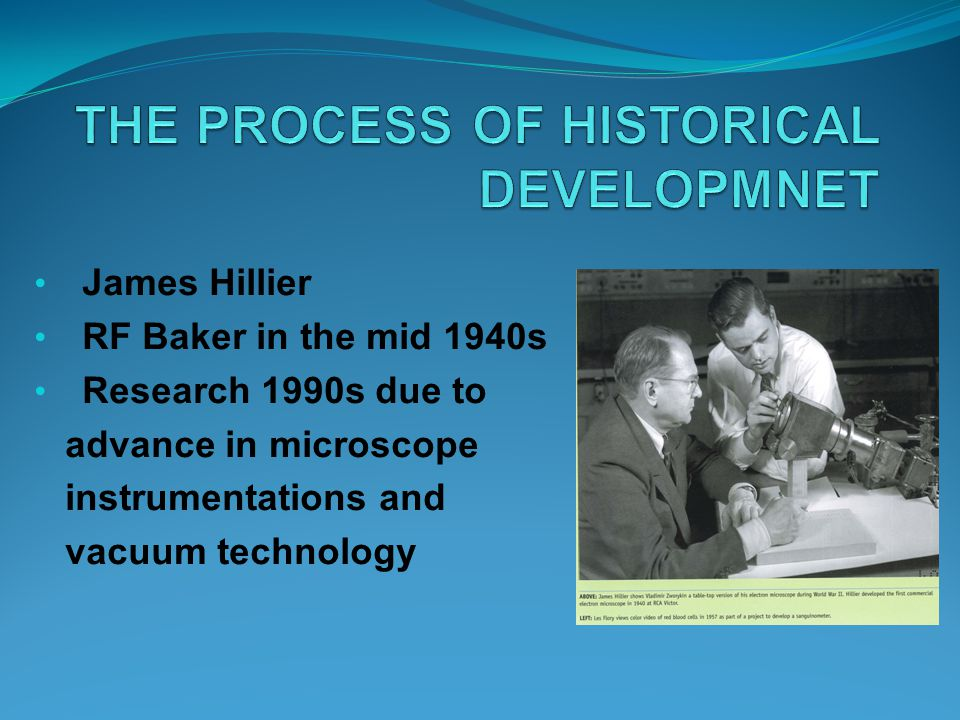 THE PROCESS OF HISTORICAL DEVELOPMNET