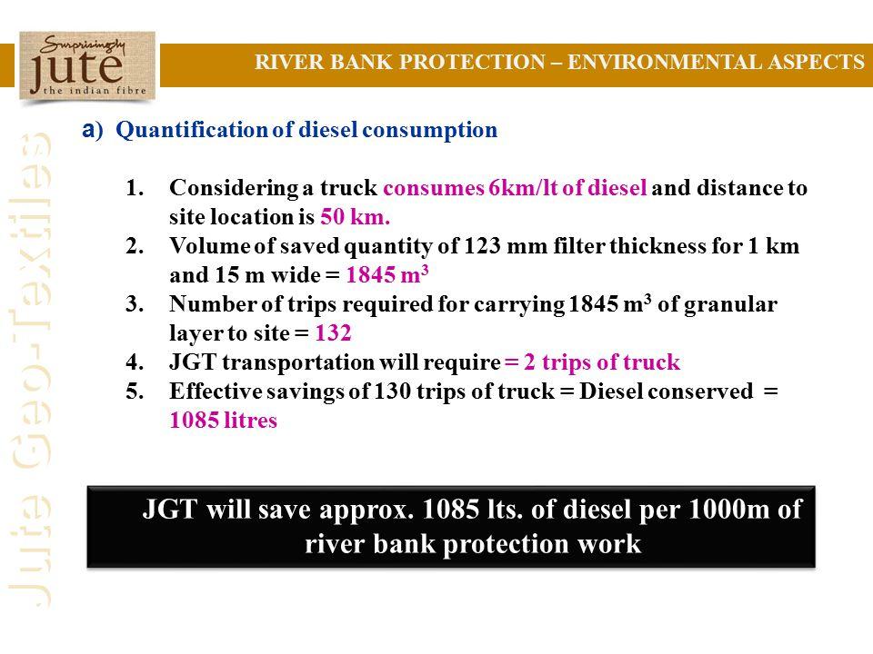 RIVER BANK PROTECTION – ENVIRONMENTAL ASPECTS