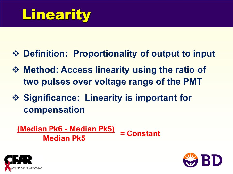 Linearity Definition: Proportionality of output to input