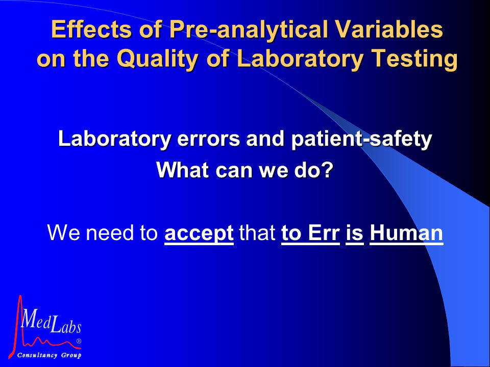 Laboratory errors and patient-safety