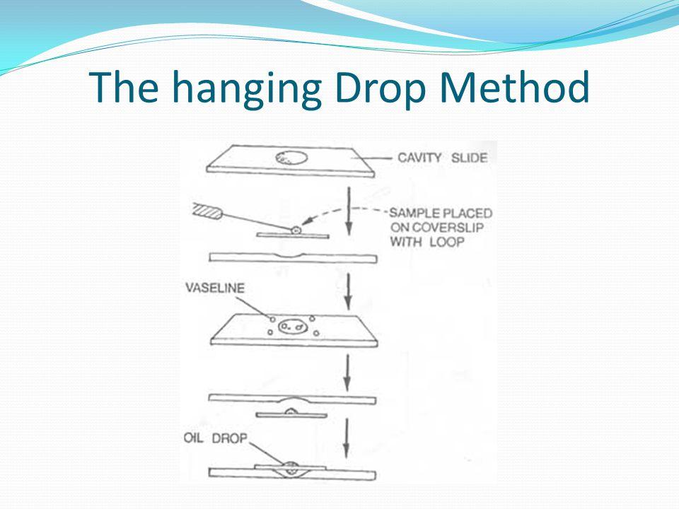 The hanging Drop Method