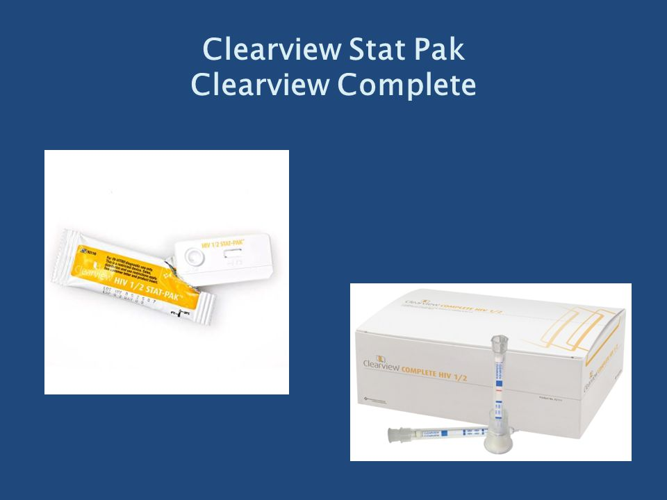Clearview Stat Pak Clearview Complete