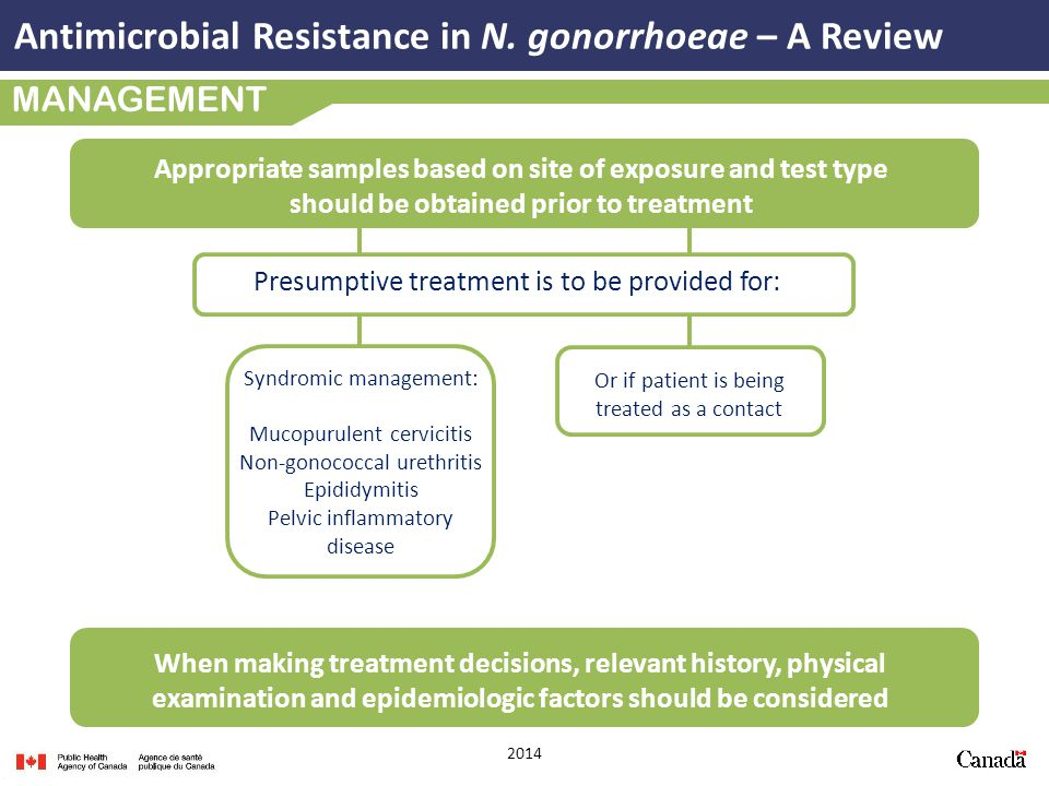 Antimicrobial Resistance in N. gonorrhoeae – A Review