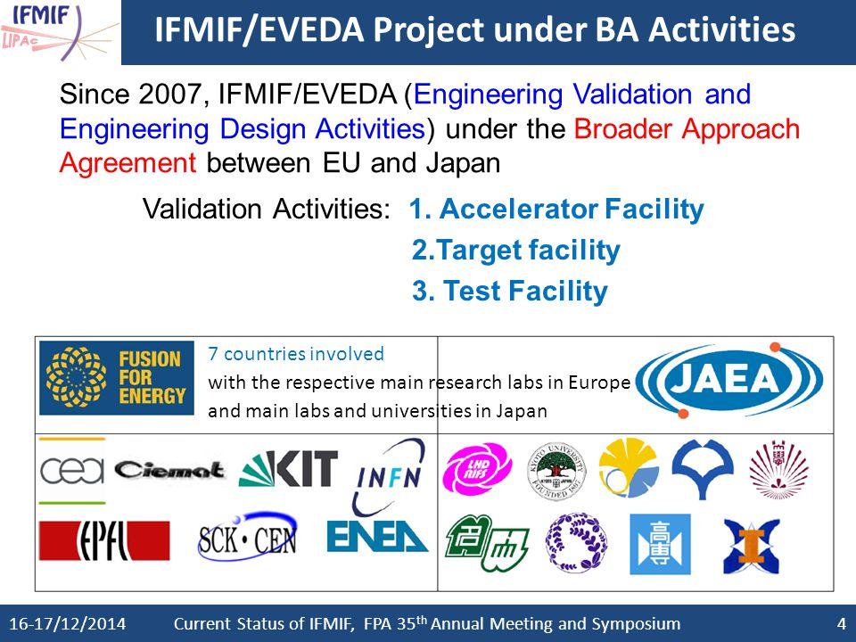 IFMIF/EVEDA Project under BA Activities