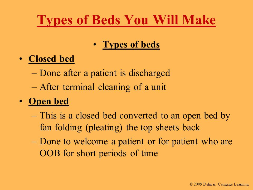 Types of Beds You Will Make
