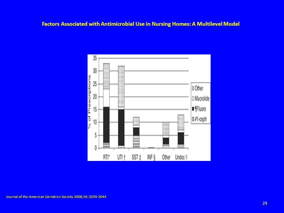Factors Associated with Antimicrobial Use in Nursing Homes: A Multilevel Model