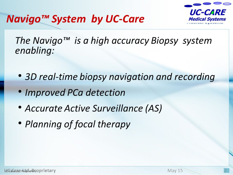UC Care Ltd. Proprietary