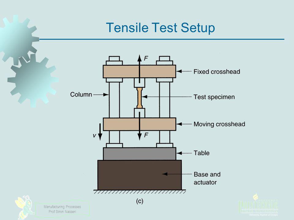 Tensile Test Setup
