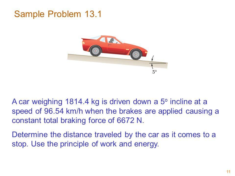 Sample Problem 13.1