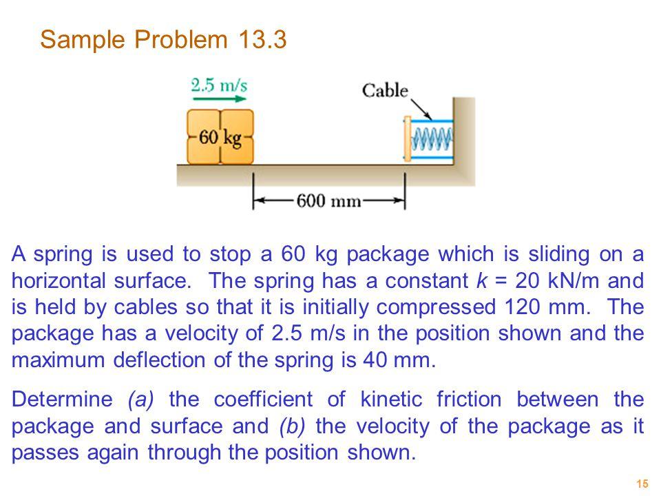 Sample Problem 13.3