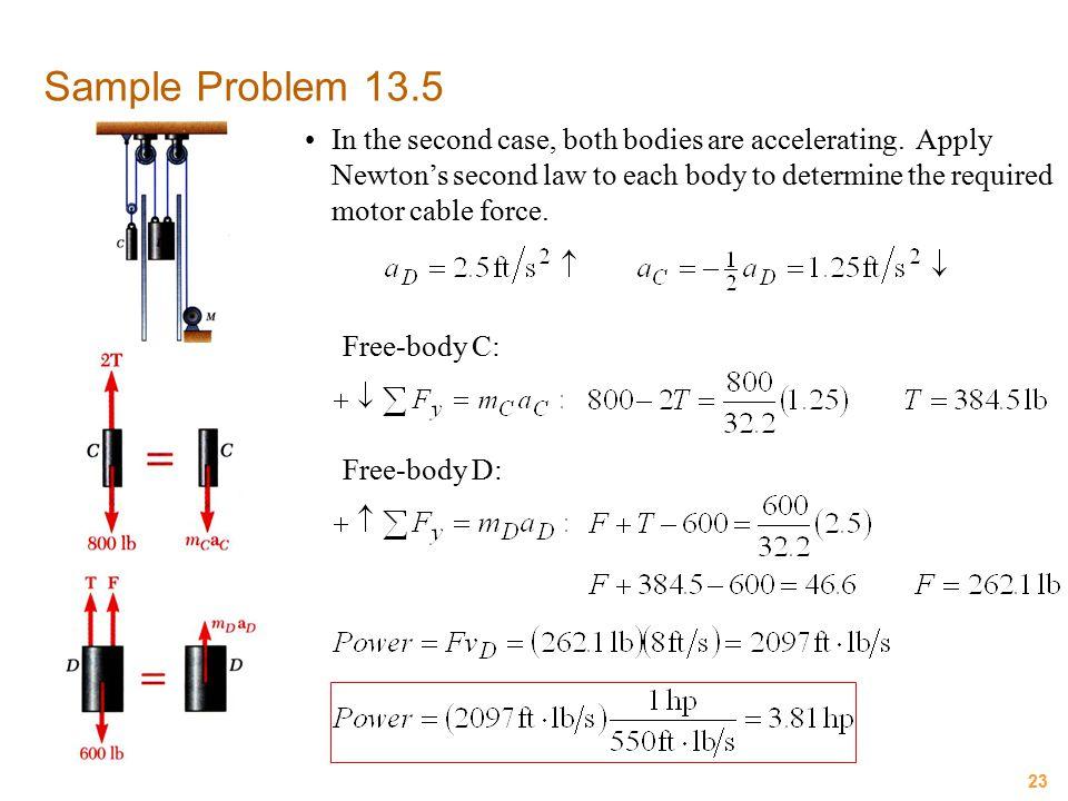 Sample Problem 13.5