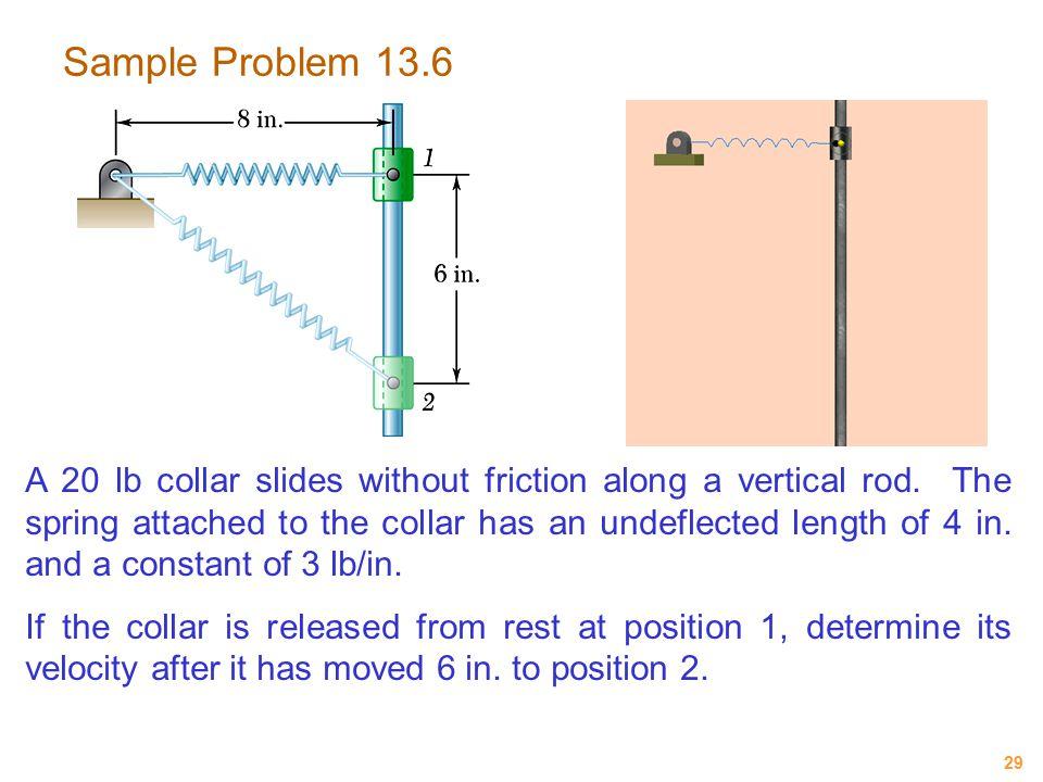 Sample Problem 13.6