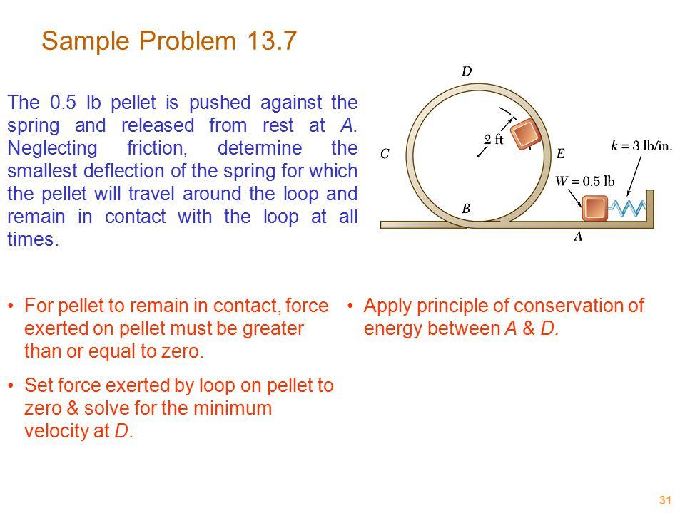 Sample Problem 13.7