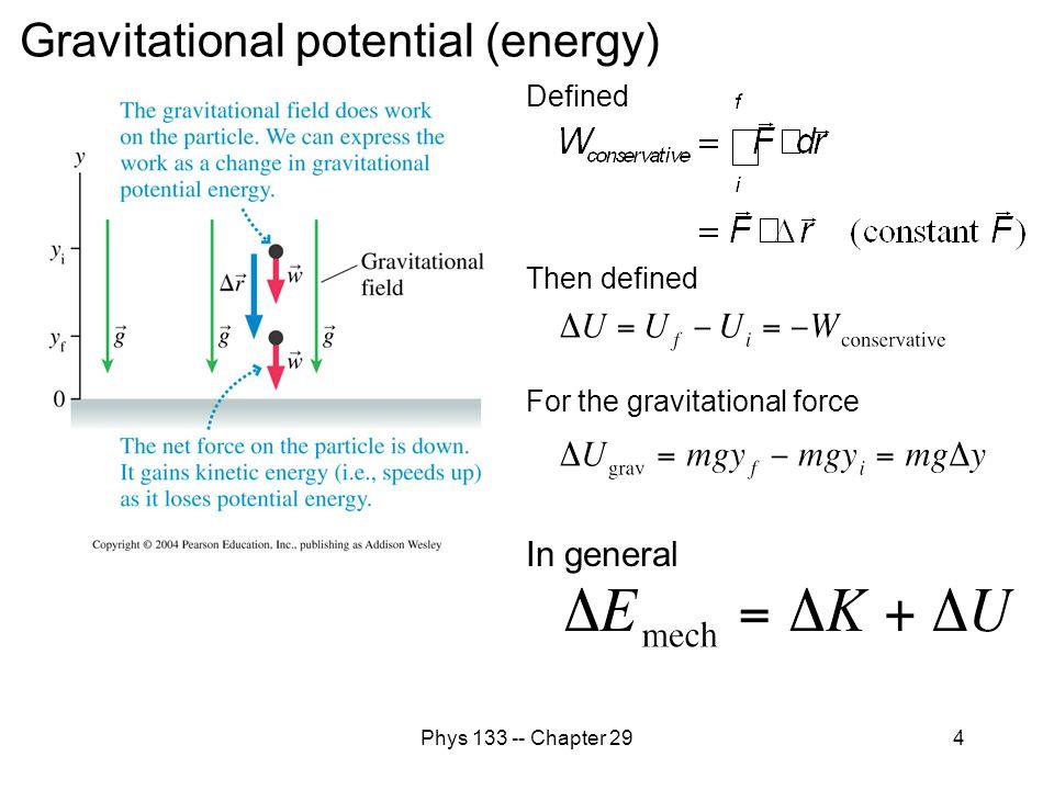 Gravitational potential (energy)