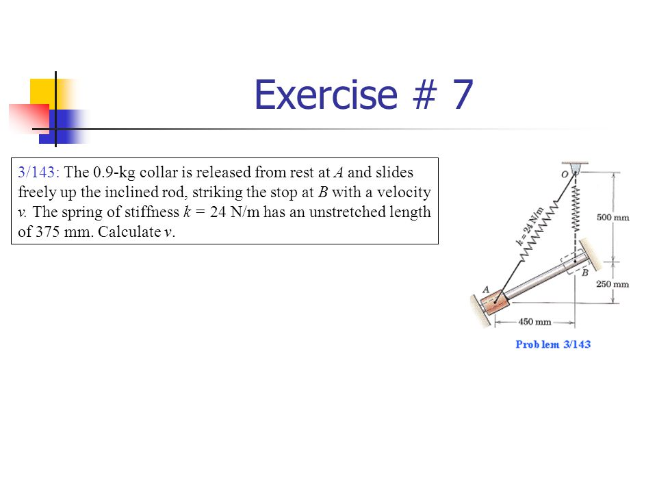 Exercise # 7