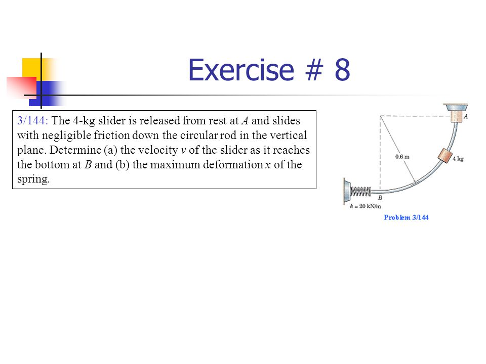 Exercise # 8