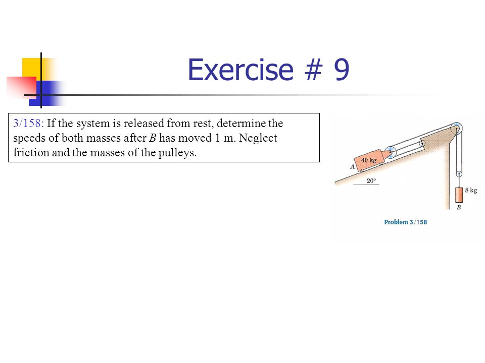 Exercise # 9
