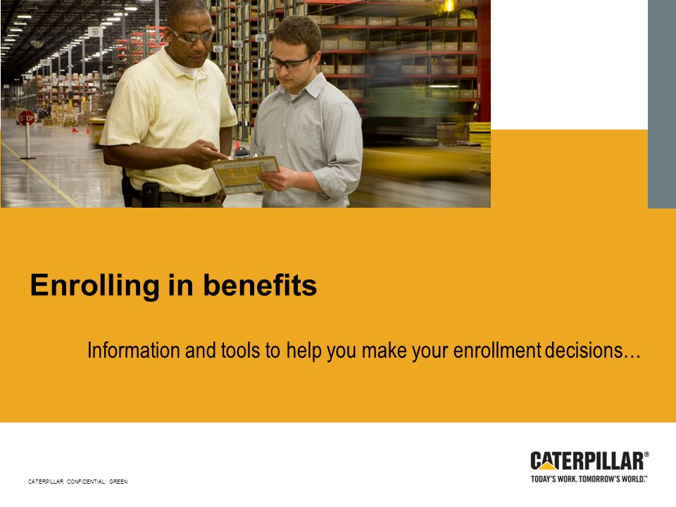 Information and tools to help you make your enrollment decisions…