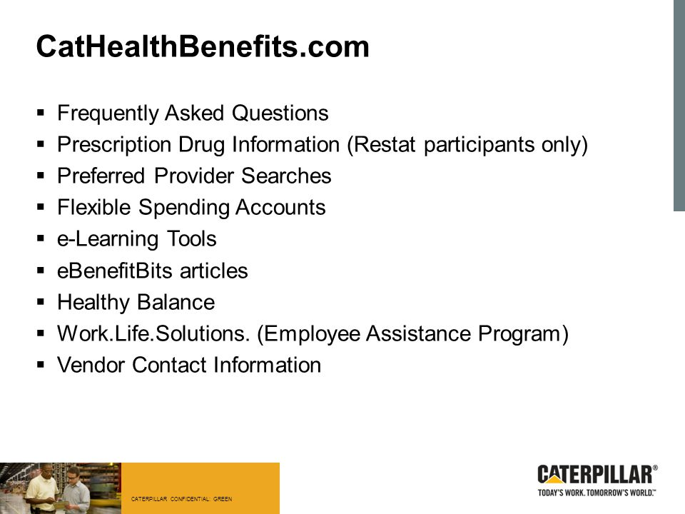 CatHealthBenefits.com Frequently Asked Questions