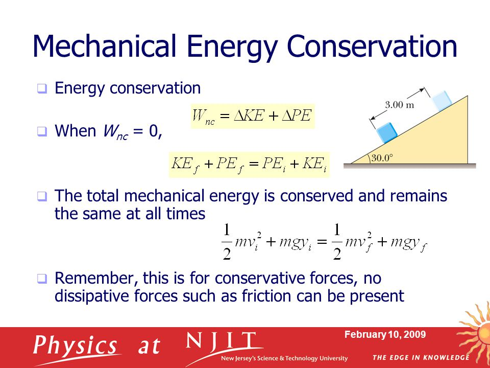 Mechanical Energy Conservation