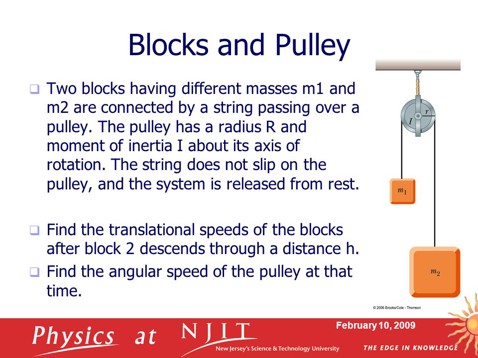 Blocks and Pulley