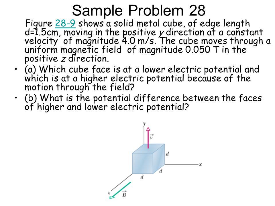 Sample Problem 28