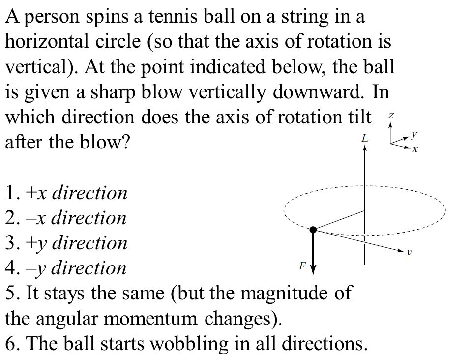 A person spins a tennis ball on a string in a