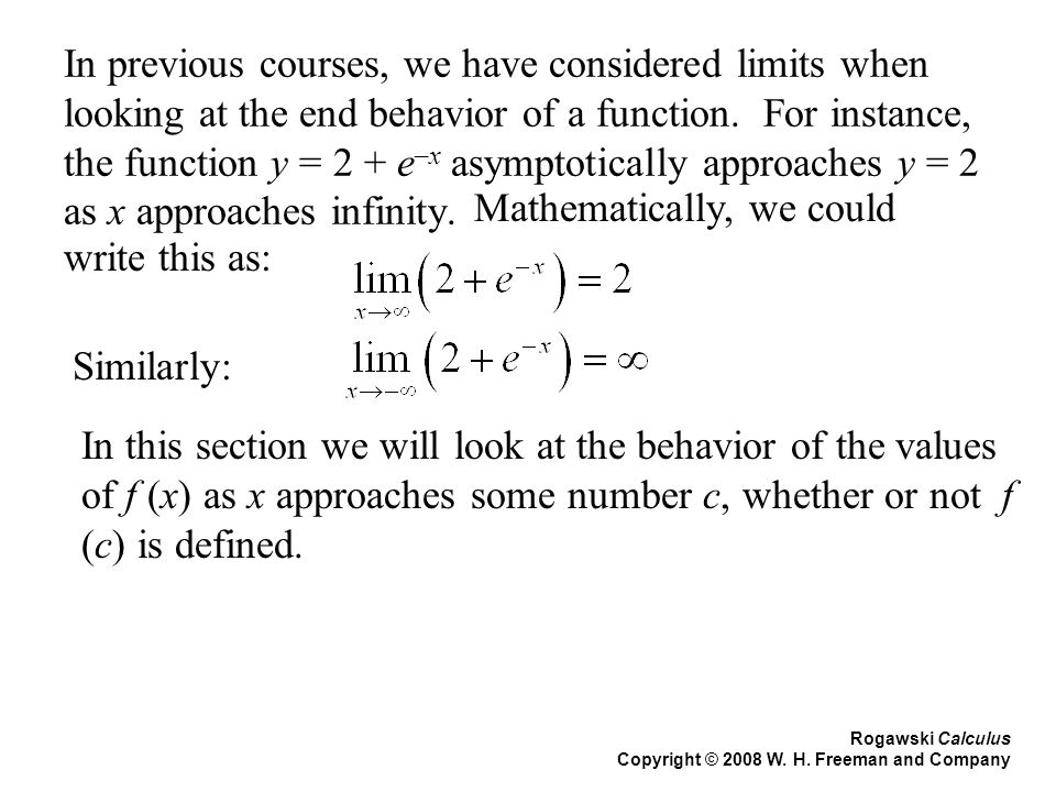 Section 2.2 Notes and Examples