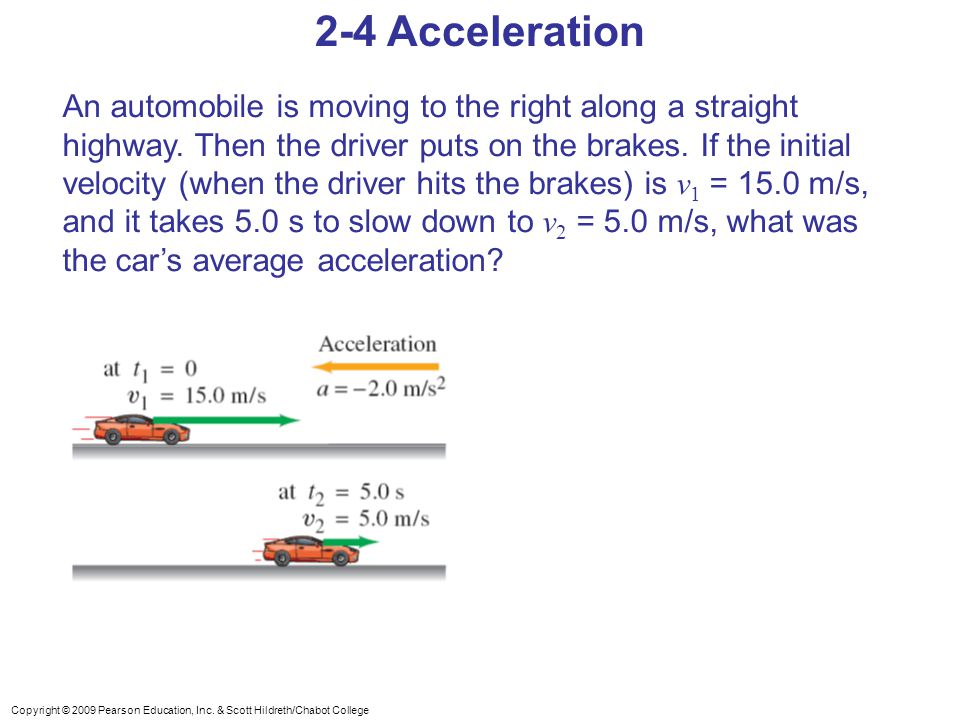 2-4 Acceleration