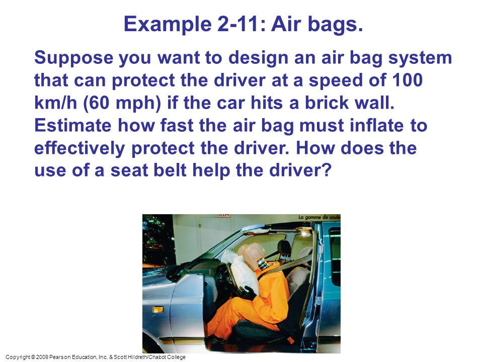 Example 2-11: Air bags.