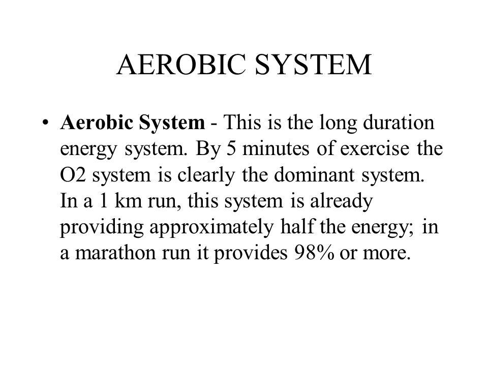 AEROBIC SYSTEM