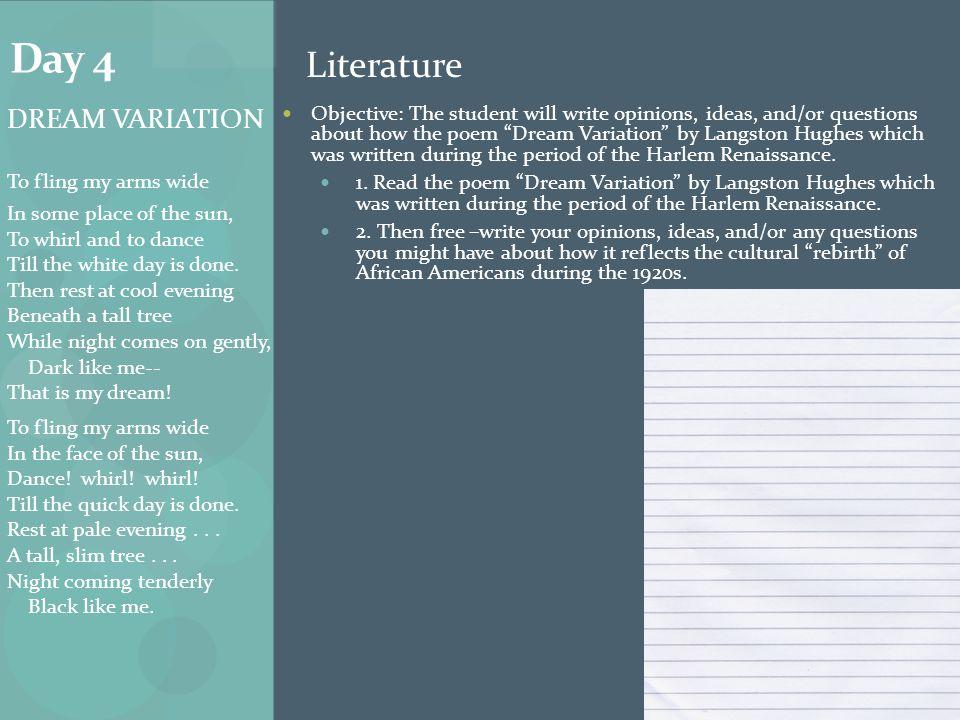 Day 4 Literature.