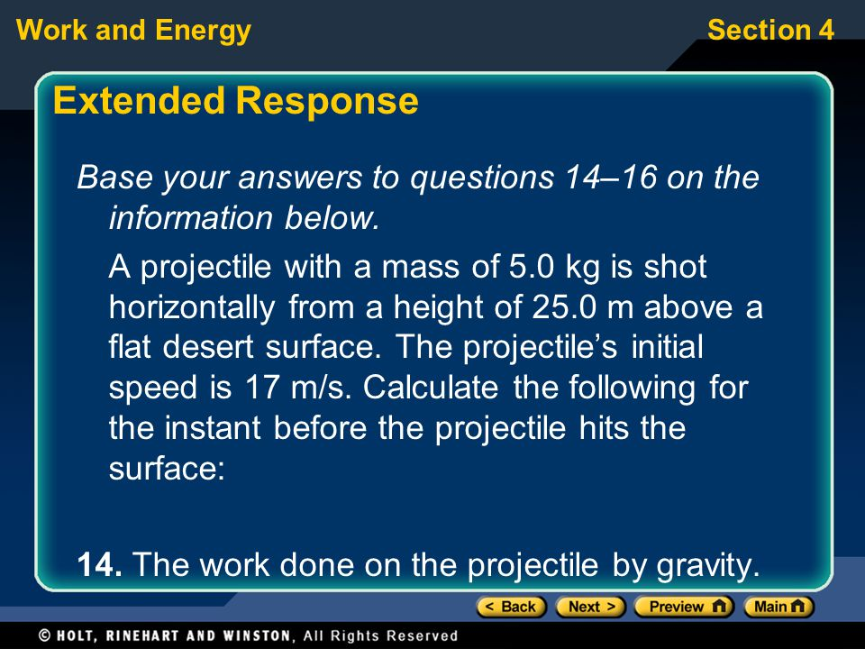 Extended Response Base your answers to questions 14–16 on the information below.