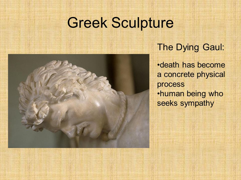 Greek Sculpture The Dying Gaul: