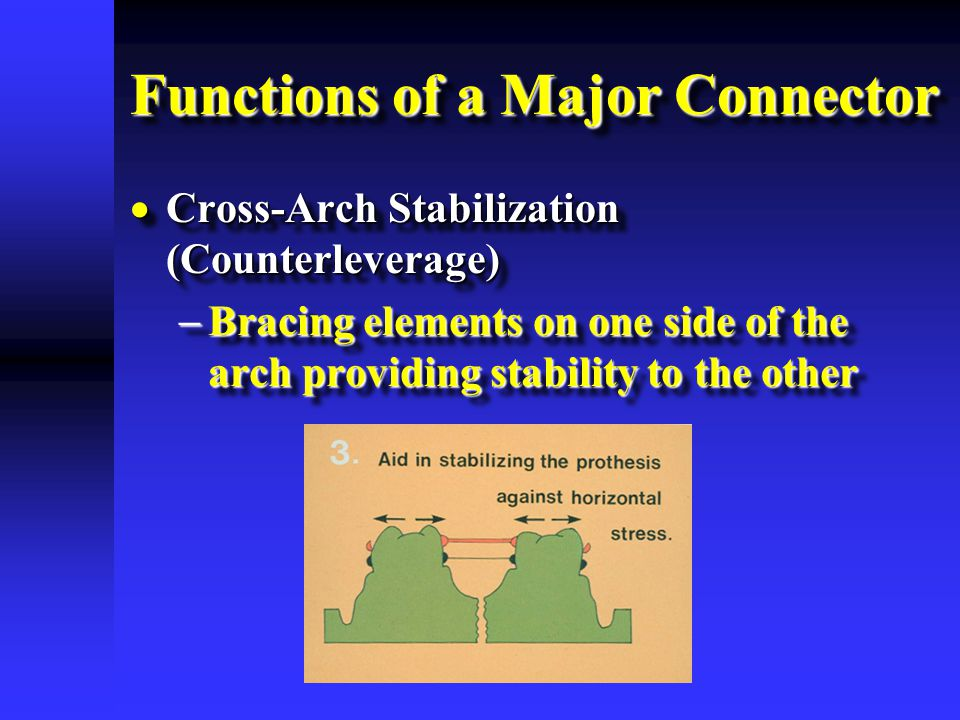 Functions of a Major Connector