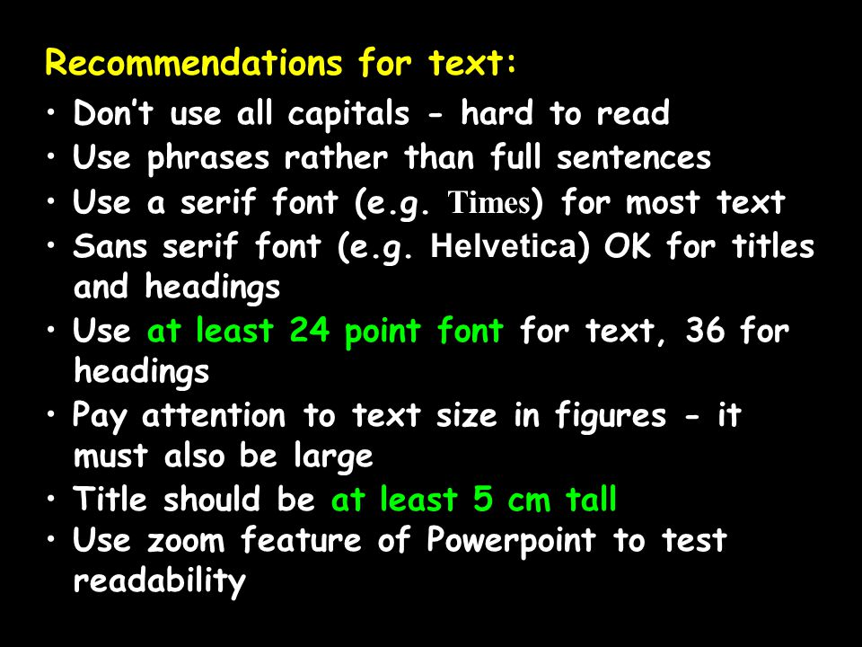 Recommendations for text: