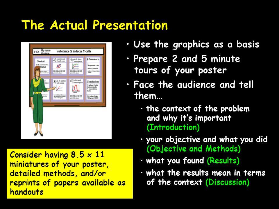 The Actual Presentation