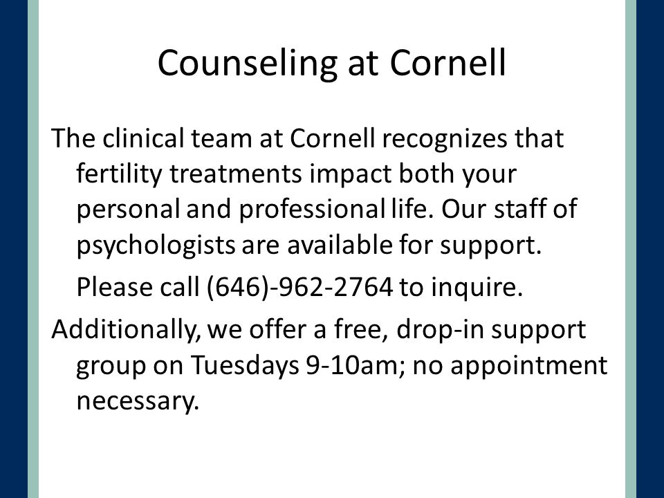 Counseling at Cornell