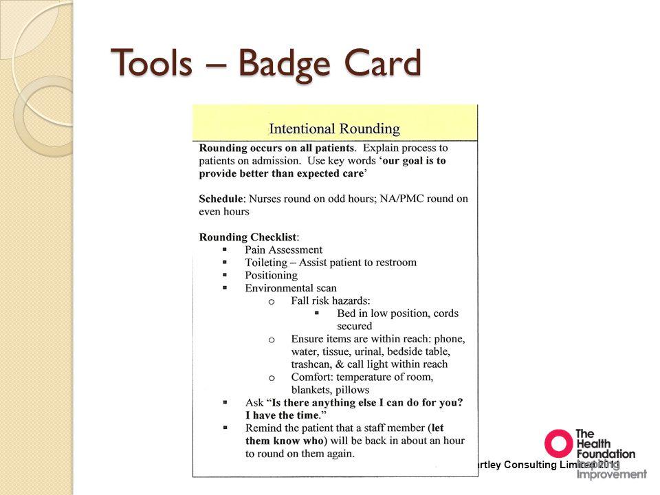 Tools – Badge Card