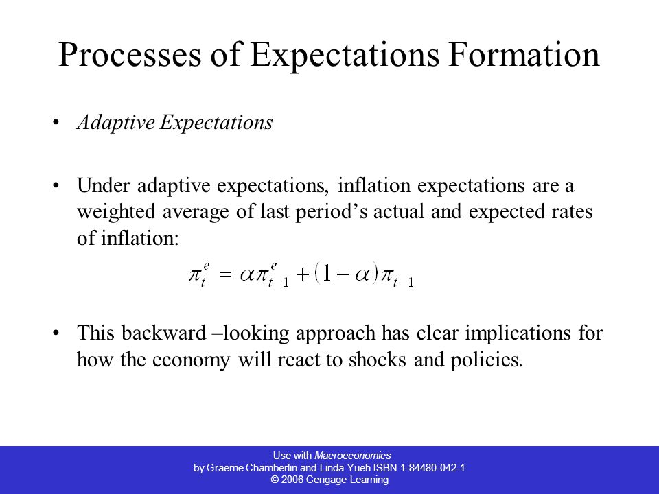 Processes of Expectations Formation
