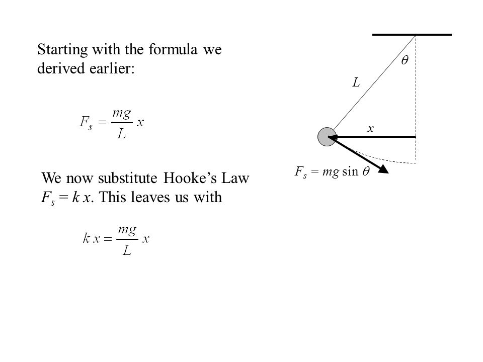 Starting with the formula we derived earlier: