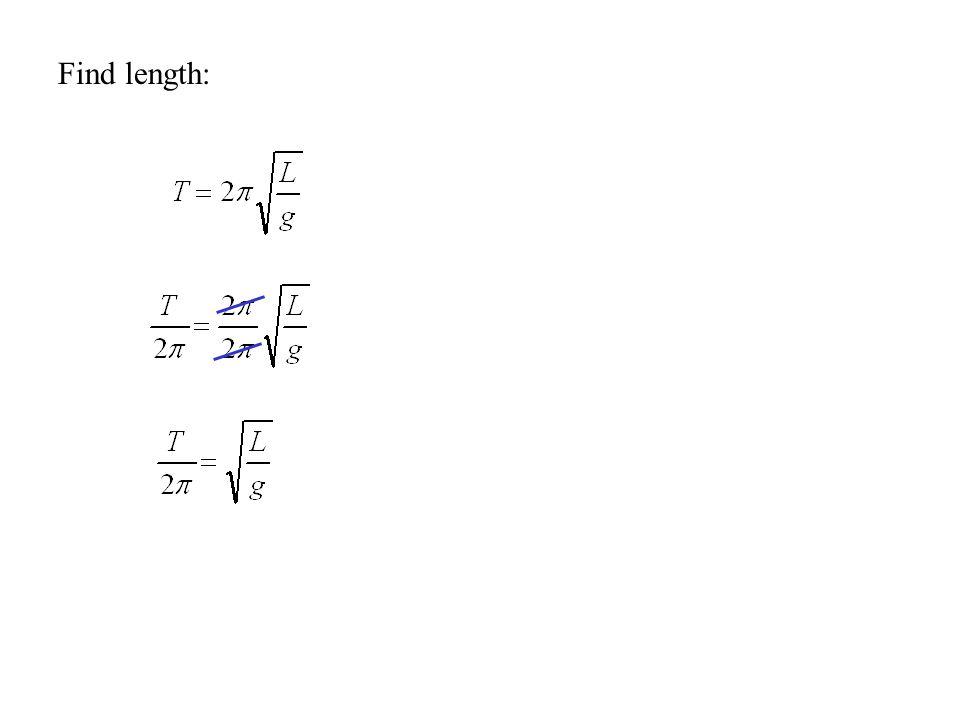 Find length: