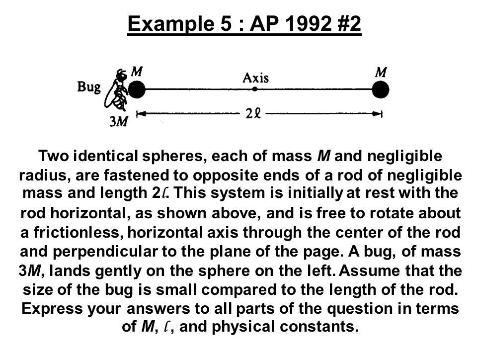 Example 5 : AP 1992 #2