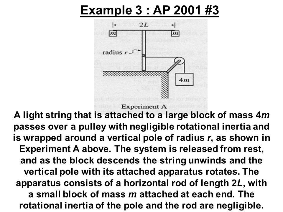 Example 3 : AP 2001 #3
