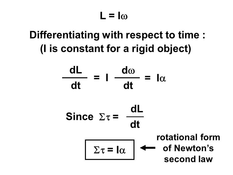 Differentiating with respect to time :