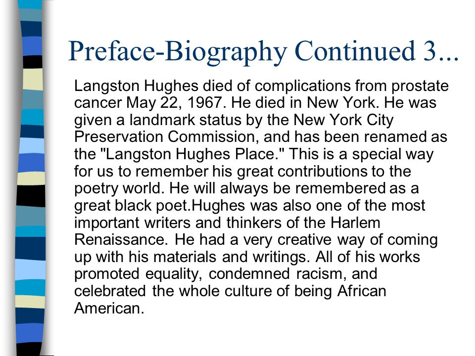 Preface-Biography Continued 3...