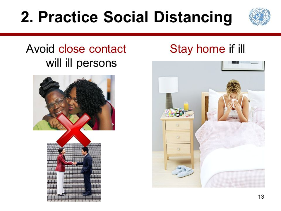 2. Practice Social Distancing