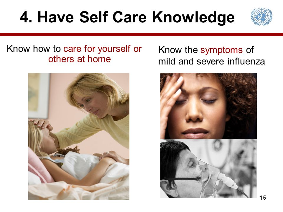 4. Have Self Care Knowledge